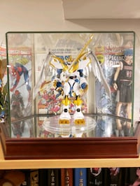 Imperialdramon paladin mode bandai figure with display case