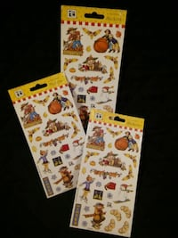 Mary Englebright holiday stickers set
