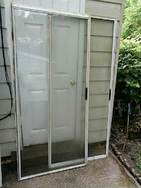 "GLASS SLIDING PATIO DOORS 38""w 78""L Upper Marlboro, 20772"