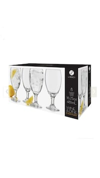 Libbey wine & Dine glasses *NEW*