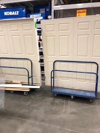 New 6 foot 6 panel doors with frame