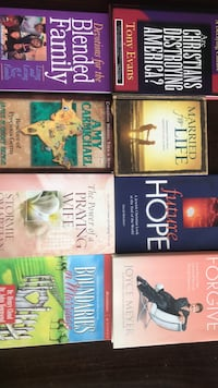 Bundle of Christian books Ashburn, 20148