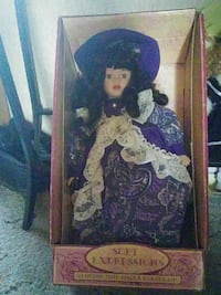 blue and white Soft Expressions doll with box Greenville, 27858
