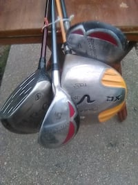 Golf clubs bundle Washington