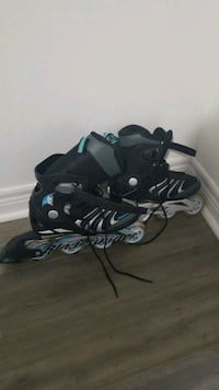 BLADE RUNNER pair of black-and-gray rollerblades  Mississauga, L5M 8A9