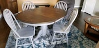 Solid Oak Dining Table with 4 chairs Carrollton, 75007