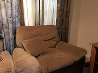 brown fabric 3-seat sofa Baltimore, 21224
