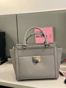 Brand New Michael Kors Grey Handbag