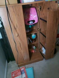 Dvd/ games cabinet with lock Columbia, 21045