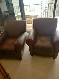 Two leather armchairs Miami, 33161