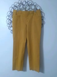 Banana Republic (Martin Fit) size 12 mustard color with slit ankle... Las Vegas, 89108
