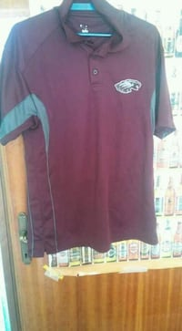 polo Philadelphia Eagles marrone e grigia 7205 km