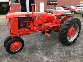 1950 Case VAC Tractor With Two Bottomed Plow!