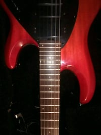red and black electric guitar Citrus Heights, 95621