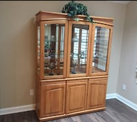 Oak China Cabinet  Pequannock, 07444