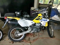 yellow and white Suzuki motocross dirt bike Charles Town, 25414