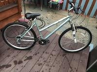 gray and black hardtail mountain bike Germantown, 20874