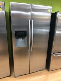 Stainless Steel Samsung Side by Side Refrigerator  Woodbridge, 22191