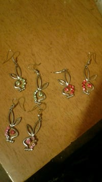 Playboy earrings! All 3 pairs! Whiteford, 21160