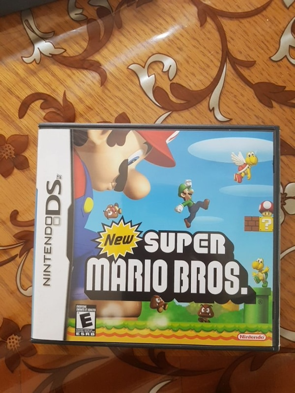 Used New Super Mario Bros  Nintendo DS game case for sale in