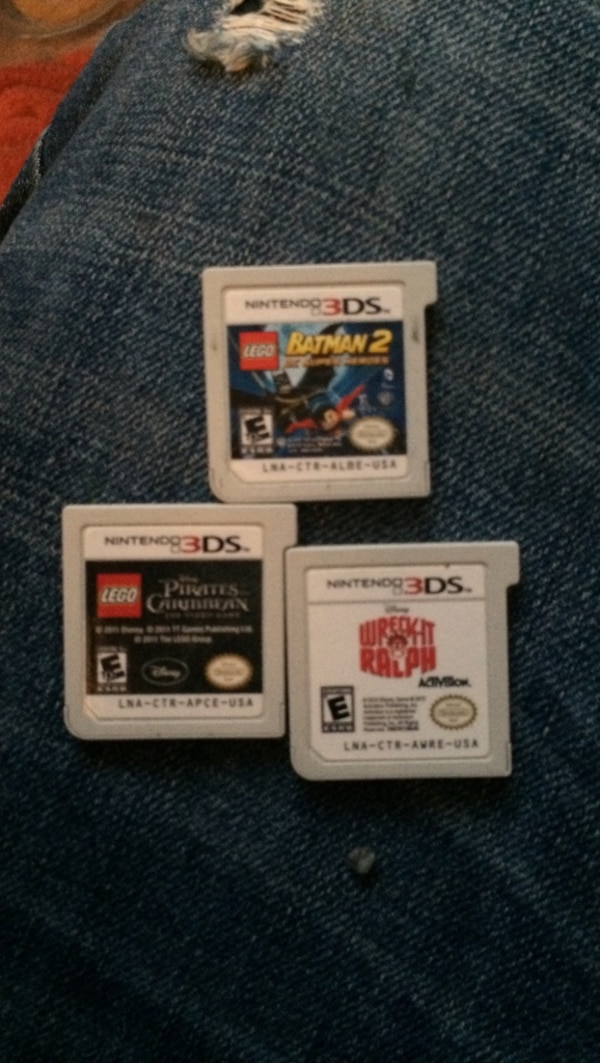 3 Nintendo 3ds games