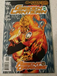 Green Lantern Blackest Night collection Jacksonville, 32259