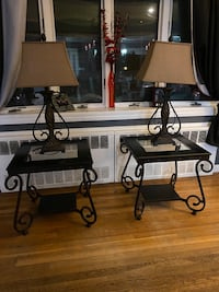 2 End Tables and Lamps West Babylon, 11704