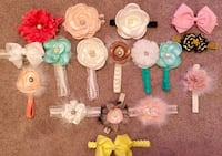 New never used baby girl headbands  Richmond Hill, 31324