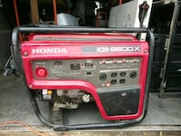 red and black Honda generator New York, 10022