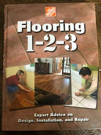Home Depot flooring book