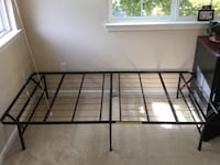 Twin bed frame - very sturdy  Los Gatos, 95032