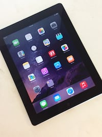 Like NEW Apple IPad 2 Black | Clean Install iOS  Garfield