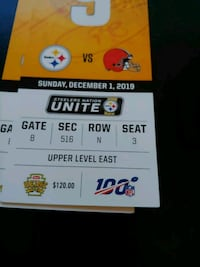 Steelers Tickets browns 4