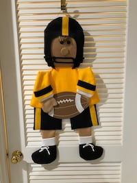 Steelers Gand made wall hanging Bristow, 20136