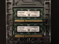 Crucial 8GB (2 x 4GB) DDR3 1066 (Mac Compatible) Rockville, 20853