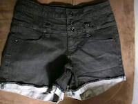 Black jean shorts Belton, 64012