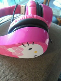 pink Hello Kitty corded headphones Vancouver