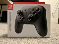 Brand New Sealed Nintendo Switch Pro Controller  Abbotsford, V4X 1H5