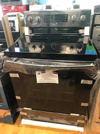 Brand New Samsung Black Stainless Steel Electric Stove Elkridge, 21075