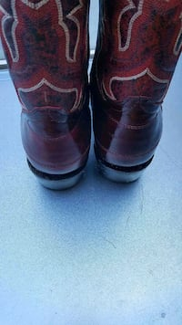 pair of brown leather boots Mesquite, 75149