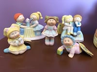 Vintage 1984 cabbage patch porcelain figurines  Edmonton, T5Z 3H7