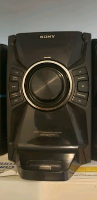 SONY CD sound system - powerful Vaughan, L4L