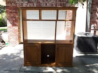 Solid Wood Entertainment Center LARGO