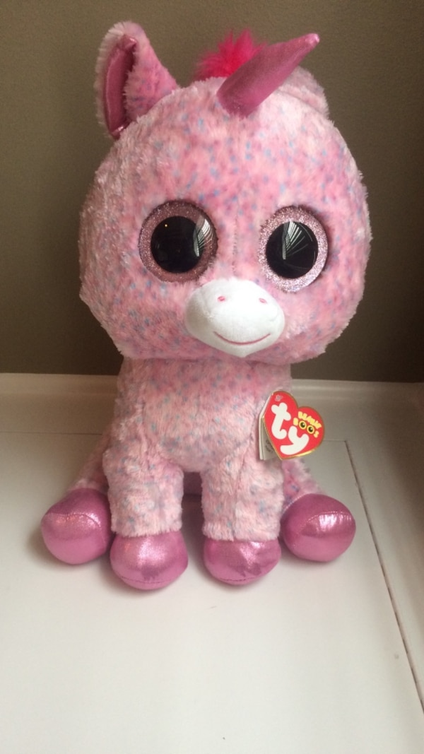 Used Beanie Boo Ty Rosey for sale in Naperville - letgo 8c60c10ff2c2
