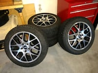 WINTER is almost here - 4 Wheels with 4 Winter Tires Mounted FOR SALE! Frederick, 21703