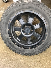 All Terrain tires with rims - Metal Militia For Ford F150