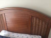 Brown wooden headboard Virginia Beach, 23451