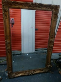 """54""""×36"""" Mirror w/ full whole solid heavy wood craf Norcross, 30093"""