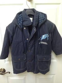 Child Size 4 Winter jacket with hood