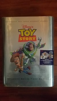 Vintage TOY STORY VHS collectors